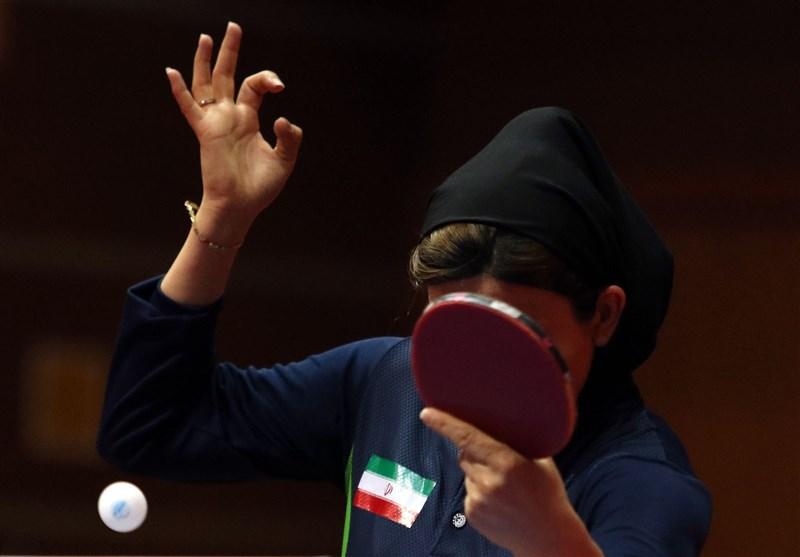 تنیس روی میز قهرمانی آسیا| برتری تیم بانوان ایران مقابل نپال