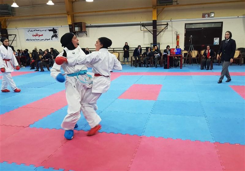 سوپر لیگ کاراته بانوان| قهرمانی دانشگاه آزاد در پایان نیم فصل نخست