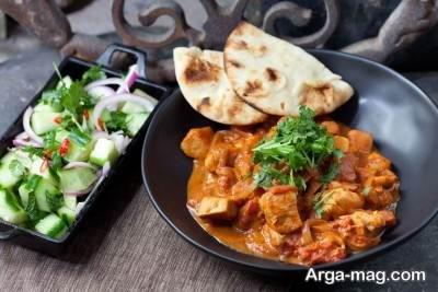 طرز تهیه چیکن ماسالا یک غذای هندی فوق العاده خوشمزه با مرغ