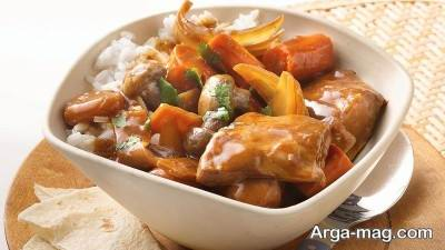 طرز تهیه خورش چینی لذیذ با طعم اصلی در منزل