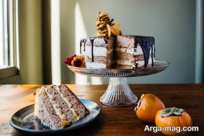 طرز تهیه کیک خرمالو خوشمزه و خانگی با سه دستور پخت متفاوت