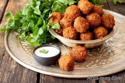 طرز تهیه فلافل با آرد نخود خوشمزه در خانه و نکاتی برای پخت بهتر این غذای محبوب