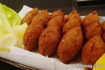 طرز تهیه کبه برنجی غذای خوشمزه عربی