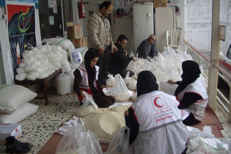 602 هزار نفر ساعت کار داوطلبانه برای کمک به سیل زدگان انجام شد