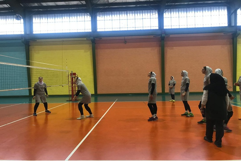 دور جدید تمرینات تیم ملی والیبال زنان آغاز شد