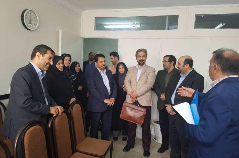 اعضای مرجع ملی حقوق کودک از دادگاه اطفال استان تهران بازدید کردند