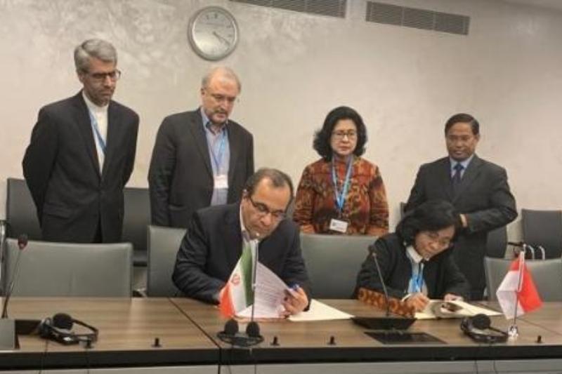 برنامه عملیاتی همکاری بهداشتی ایران و اندونزی امضا شد