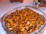 طرز تهیه خوراک سیب زمینی خوش طعم و لذیذ با دستور پخت ساده